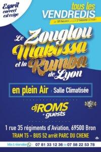 [AMBIANCE] Le zouglou, Makossa et la Rumba de Lyon @ Bron