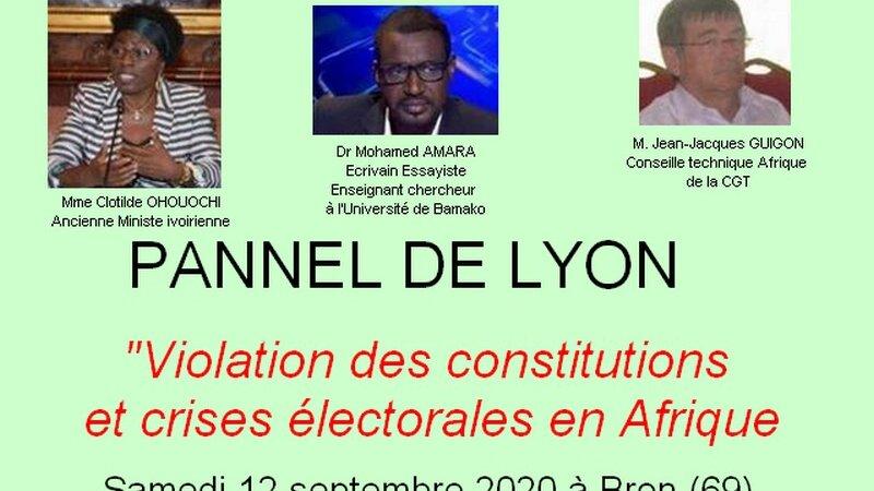 [CONFERENCE] Violations des Constitutions  et crises électorales en Afrique. Cas de la Côte d'Ivoire samedi 12 septembre 2020 à Bron (69)