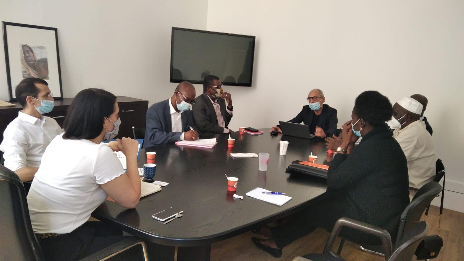 [ASSOCIATION] Une délégation d'Africa 50 a rencontré Mme Sonia ZDOROVTZOFF la nouvelle adjointe aux relations internationales de la ville de Lyon Mercredi 2 septembre 2020