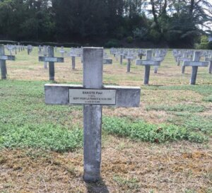 [MEMOIRE]  Centenaire de Paul BAKOTE mort au combat à Lyon le 14 septembre 1944 @ Nécropole de la Doua