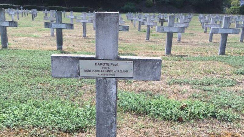 [MEMOIRE] 21 septembre 2020 à la Doua – Centenaire de Paul BAKOTE mort au combat à Lyon le 14 septembre 1944
