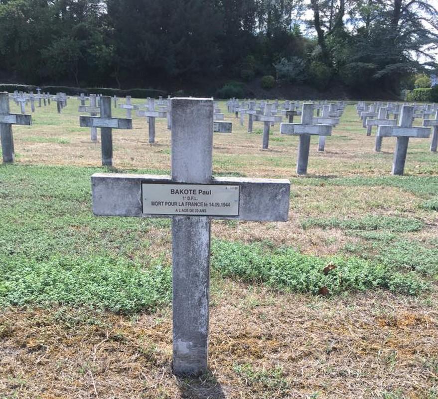 [MEMOIRE]  Centenaire de Paul BAKOTE mort au combat à Lyon le 14 septembre 1944