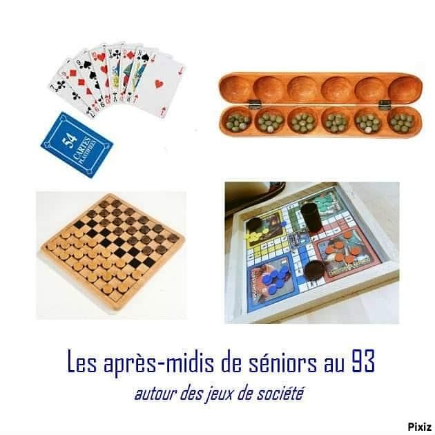 [DETENTE] Après-midi des séniors au 93 autour de jeux de société, thé ou café