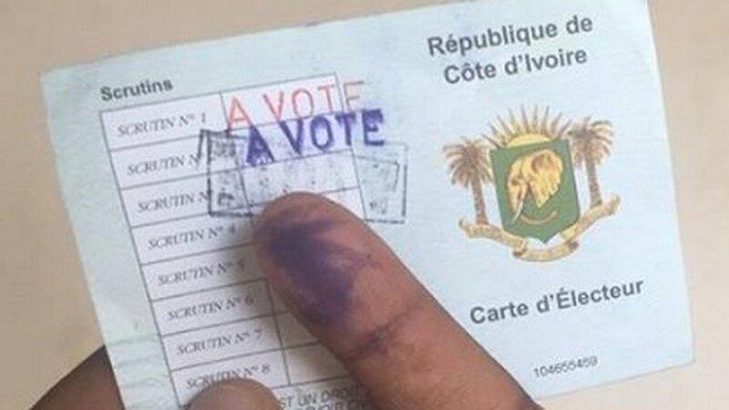 [CÔTE D'IVOIRE] Retrait des cartes d'électeurs pour la présidentielle 2020 du 14 au 20 octobre 2020 à Lyon