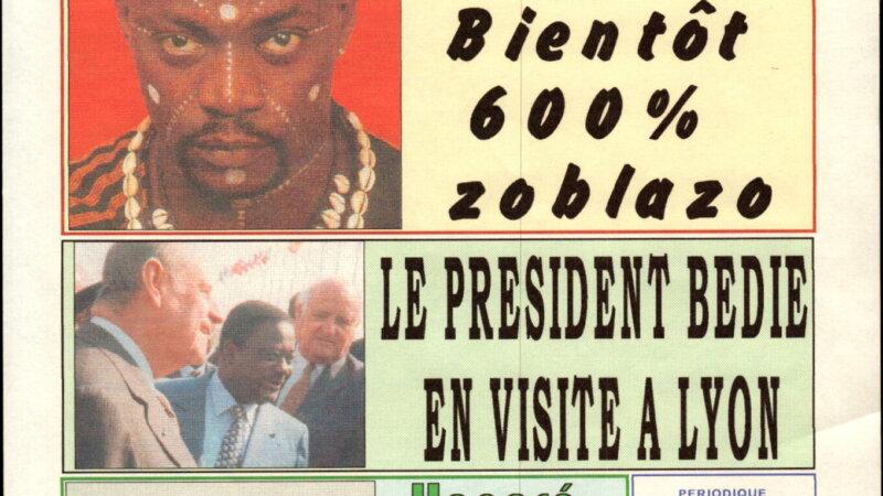 [ARCHIVES] «Le Président Henri Konan BEDIE en visite à Lyon» Kpakpato n°60 du 7 juin 1999
