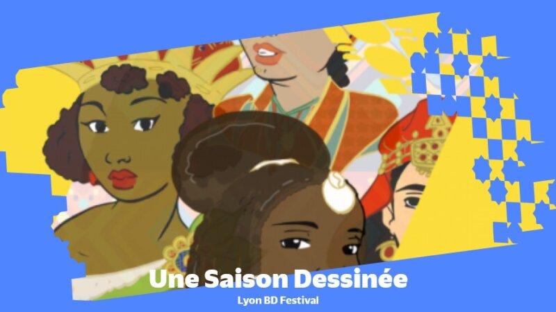 [AFRICA 2020] Lyon BD Festival prend part à la Saison Africa2020 en proposant une « Saison Dessinée » avec chaque mois une création originale en bande dessinée