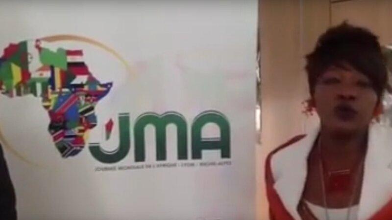 [VIDEO SOUVENIR] Abel BILONG et Khady Issabré ISSABRE présentent les JMA 2013 (17 avril 2013)