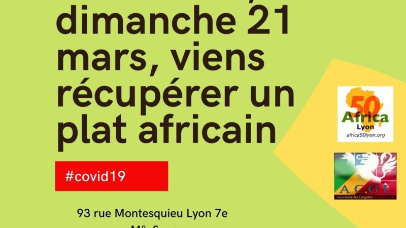 [SOLIDARITE] Tu es étudiant.e, viens récupérer un plat africain offert par l'ACGL et Africa 50
