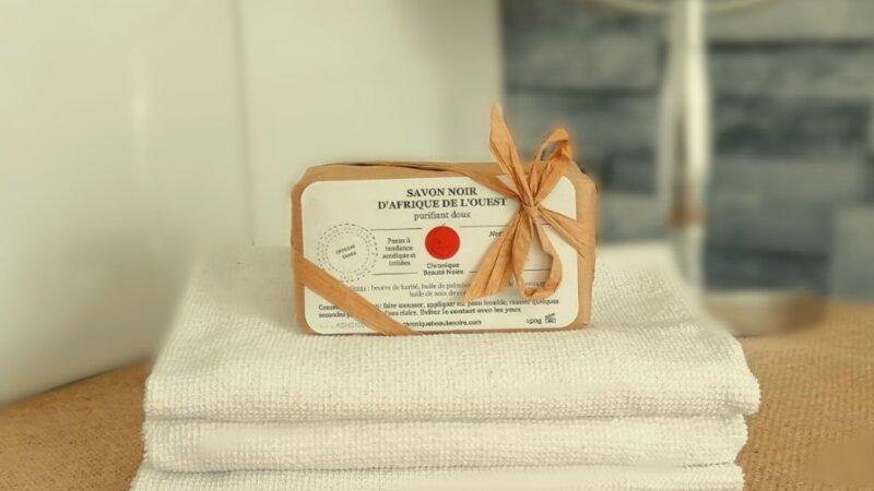 [BEAUTE] Chronique beauté noire vous propose votre savon noir d'Afrique de l'ouest au beurre de karité !