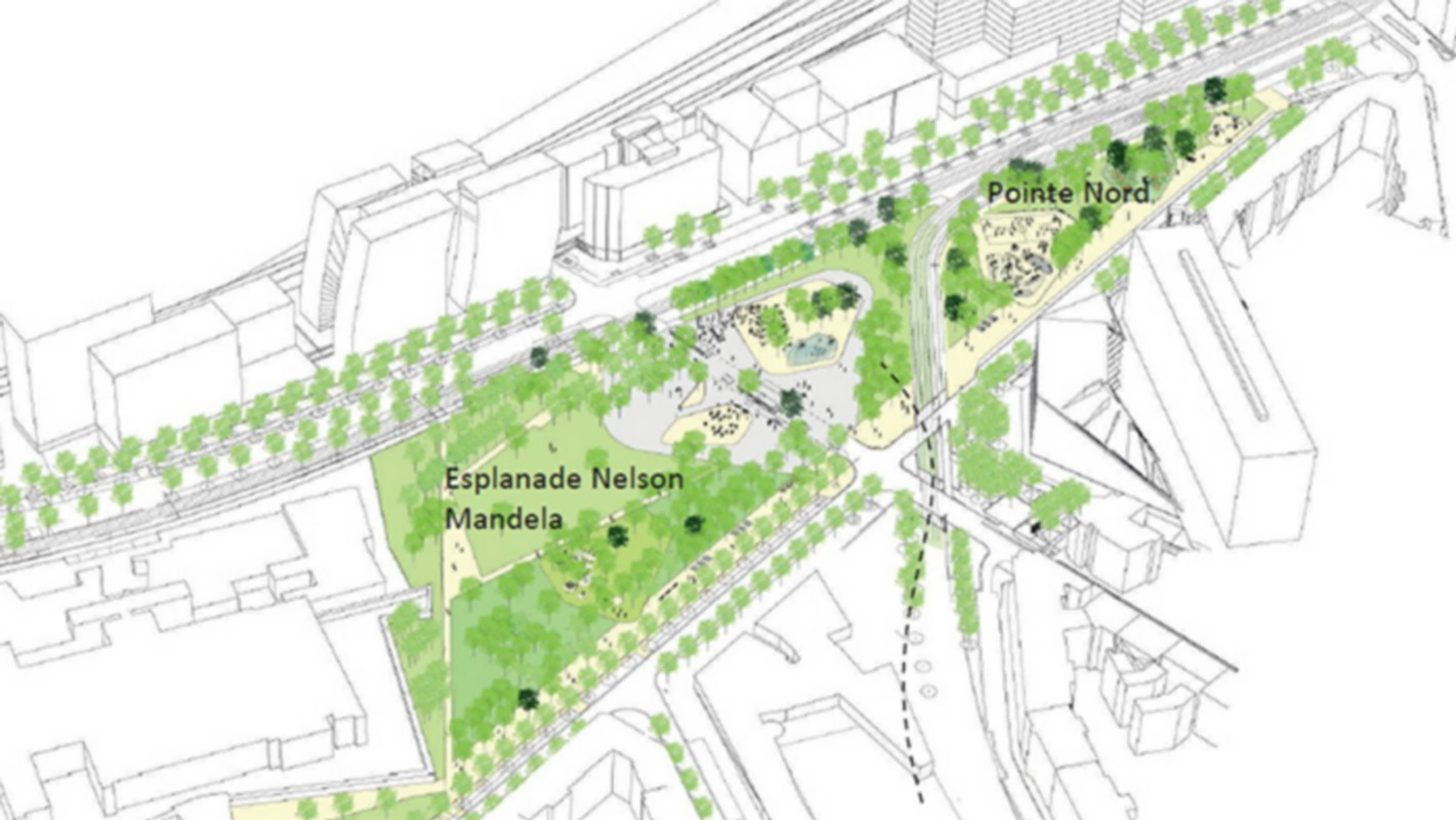 [ESPLANADE MANDELA] Nouvelle étape pour le projet d'extension dans le 3e à Lyon