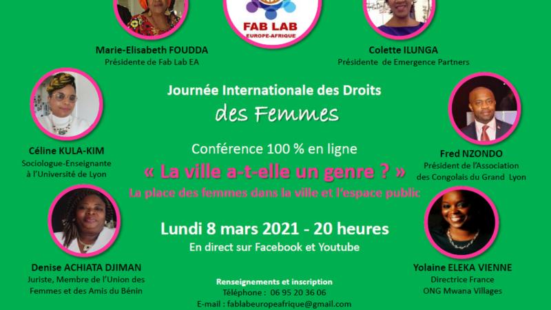journée internationale droits des des femmes lyon 2021