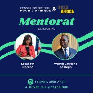 [ECONOMIE] PASS AFRICA : Doper le Mentorat pour créer des passerelles, c'est possible ! Le Collectif Africa 50 aux côtés du CPA pour le lancement du Mentorat le14 avril 2021 @ visio-conférence