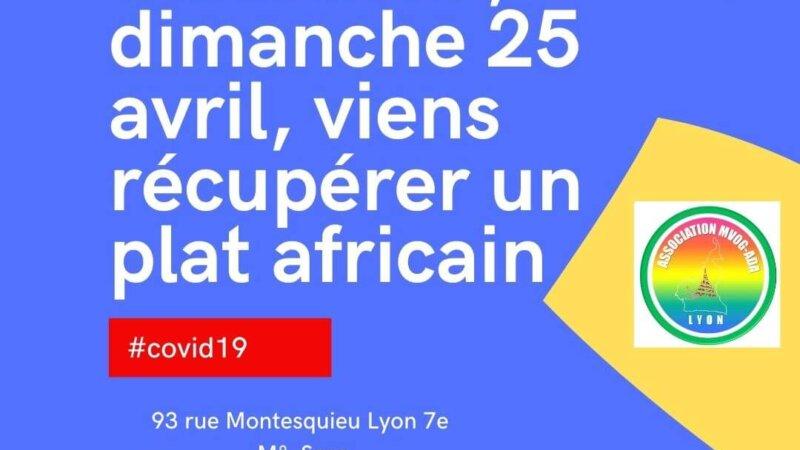 [SOLIDARITE] Tu es étudiant.e, dimanche 25 avril 2021 viens récupérer un plat aux saveurs africaines offert par l'association MVOG ADA