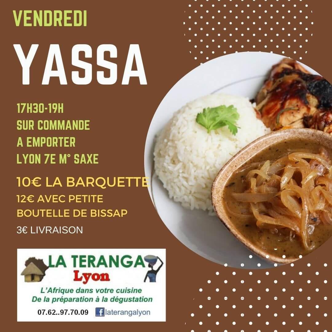 [A EMPORTER] Vendredi c'est Yassa poulet