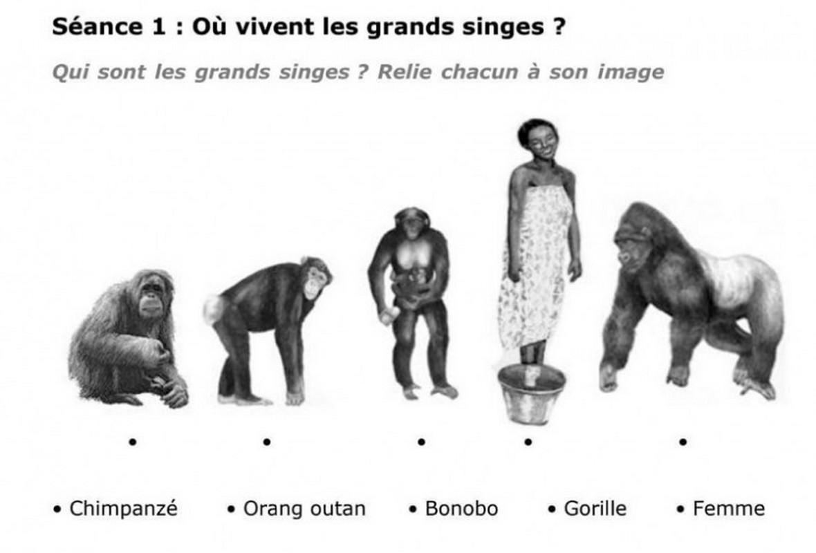 [LIBRE PAROLE AVEC ILHAM]  Ecole française Ernest Renan au Maroc: une femme noire et des singes