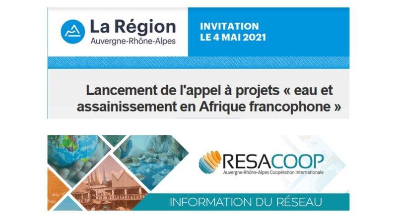 [ECONOMIE] Lancement de l'appel à projets « eau et assainissement en Afrique francophone » Mardi 4 mai 2021 en visio