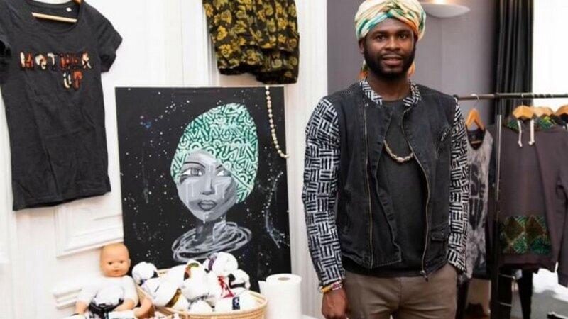 [PORTRAIT] Kenneth HAFIANYO artiste ghanéen et créateur de la marque Dzogbefa
