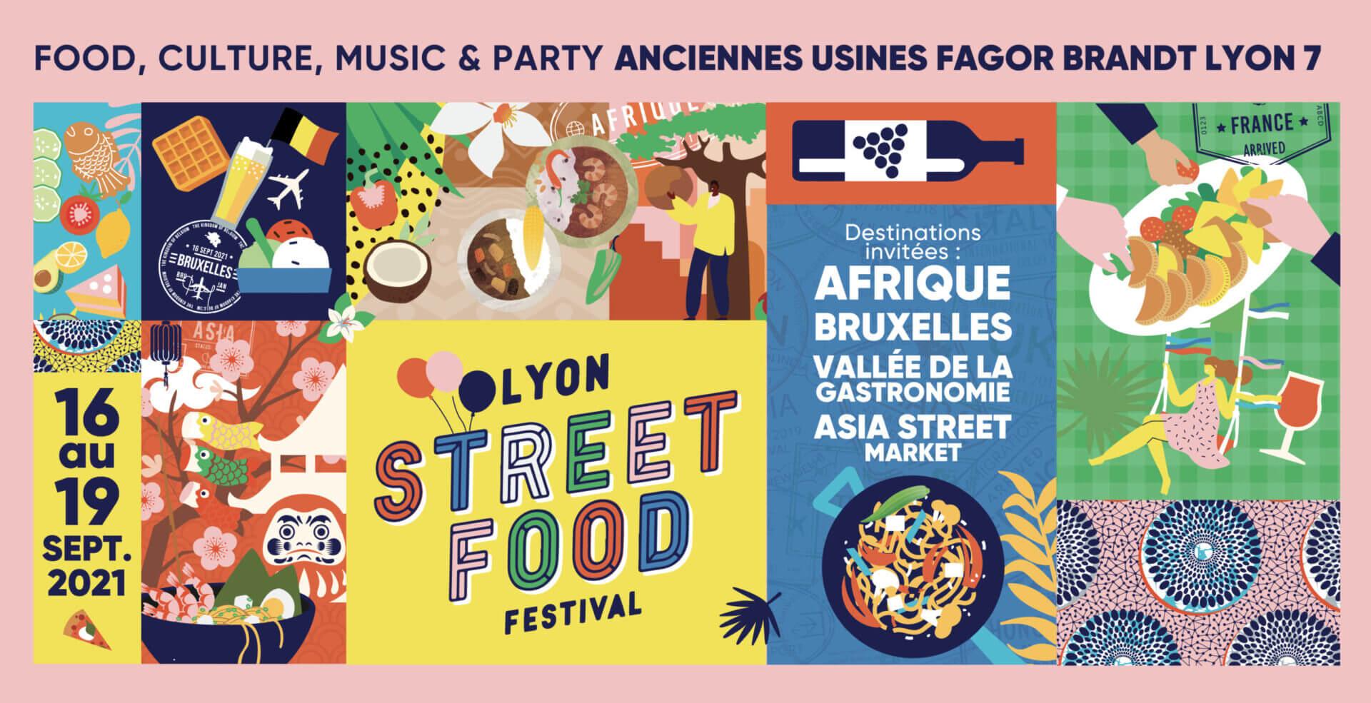 [CULTURE] Appel à projets «Culture Africaine»  Lyon Street Food Festival du 16 au 19 Septembre 2021