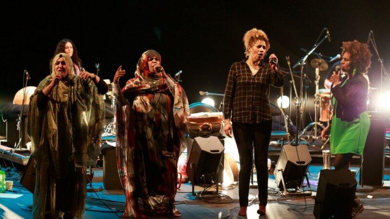 [MUSIQUE] 4 chanteuses d'exception (Algérie/Maroc/Mauritanie/Sahara Occidental) pour les Sahariennes à l'Opéra de Lyon jeudi 3 juin 2021