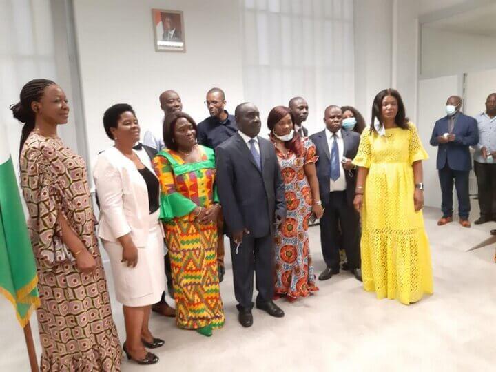 [COTE D'IVOIRE] L'an 61 célébré au consulat Général de Côte d'Ivoire à Lyon samedi 7 août 2021 (photos)