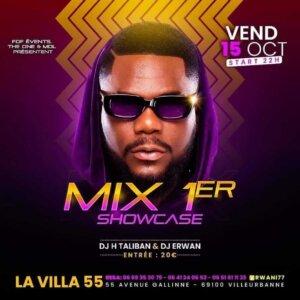 [AMBIANCE] Mix 1er en showcase à la Villa (Villeurbanne) @ La Villa